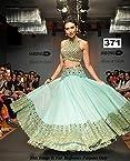 Karishma Kapoor Sky Green Embroidery Lehenga