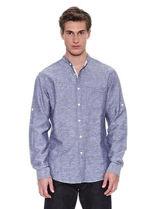 Springfield Camisa Camisa Sport B Lino Mao (Azul)