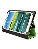 Kroo Universal Multi Fit 6 to 8 Inch Tablet Folio Case, Green (MU08EXG1-8347)