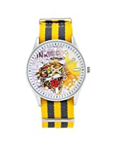 Ed Hardy Eh 1119 Maverick Tiger Watch - Yellow