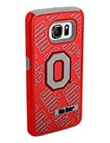 Forever Collectibles Dual layered Case for NCAA Samsung Galaxy S6 Edge - Ohio State