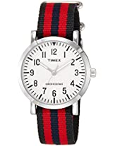 Timex OMG Analog White Dial Unisex Watch - TWEG15400