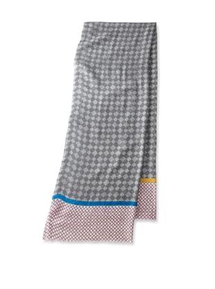 Saachi Women's Colorblock Printed Scarf, Grey