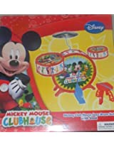 DISNEY JUNIOR MICKEY MOUSE CLUBHOUSE CHILDRENS UNISEZ JAZZ DRUM SET SO CUTE Holiday Gifts