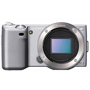 Sony Alpha NEX-5 Interchangeable Lens Digital Camera Body Only (Silver)