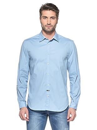 Love Moschino Camisa Manga Larga (Azul)