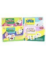 Krazy Flash Cards - 4 Combo Set (Vegetables, Fruits, Flowers , Birds)