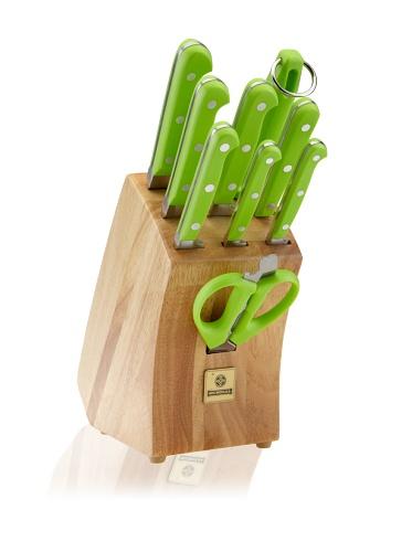 Mundial 5100 Series 10-Piece Block Set (Green)