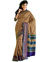 Orbymart Exclusive Designer Raw Silk Multi Colour Printed Saree - 55251566