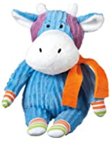 "Monkeez ""Hazel"" Mini Blue Cow Plush"