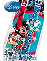 Disney Digital Green Dial Children's Watch - 6500038