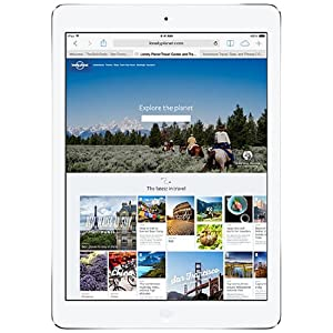 Apple iPad Air (9.7 inch,16GB, WiFi + Cellular), Silver