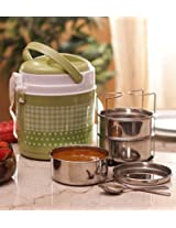 Princeware Newage Green Tiffin - 3 Containers