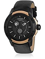 Ne1540Kl01 Black/Grey Analog Watch