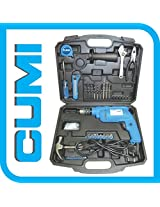 CUMI Tool Kit - 650 Watts Impact Drill with 35 Sets of Accessories