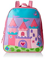 Stephen Joseph Girls' Go Go Bag, Castle, One Size