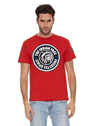 The Indian Face Camiseta Lamar (Rojo)