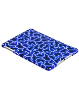 MyBat Back Protector Cover for iPad mini, Blue Lightning Smart Slim (IPADMINIHPCBKIM1051WP)