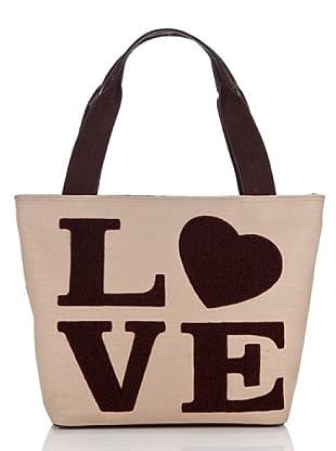 Love Moschino Tasche Lino (Natur)