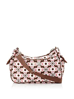 The Bumble Collection Taylor Convertible Bag (Graphic Geo Flower)