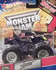 Hot Wheels Monster Jam 2010 Topps Card Sudden Impact 1:64