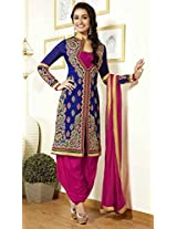 Ethnic Fire Women's Designer Anarkali Suit 22317
