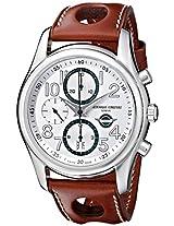 Frederique Constant Men's FC-392HSDG6B6 Healey automatic Silver Chronograph Dial Watch