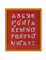 LEARN YOUR ABC's Laser Cut Poster Wall Mounted