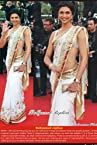 Bollywood Replica Deepika Padukone- White Net Saree