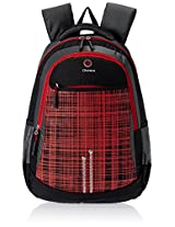 "Genius Nylon Children's Backpack (GN 1516 - 19""-RED)"