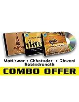 Rabindra Sangeet Combo-2 Matiswar + Chhotoder Rabindranath + Dhwoni