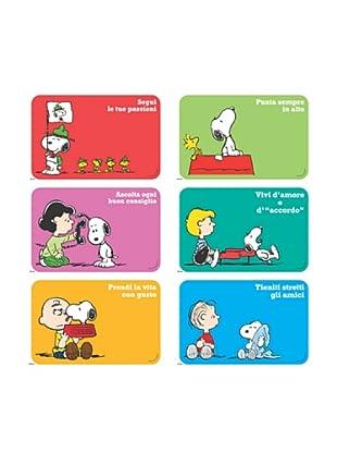 Set 6 Tovagliette Snoopy