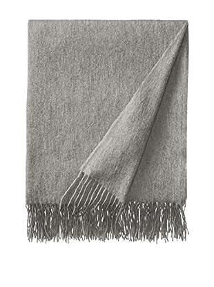 Sofia Cashmere Trentino Throw, Grey