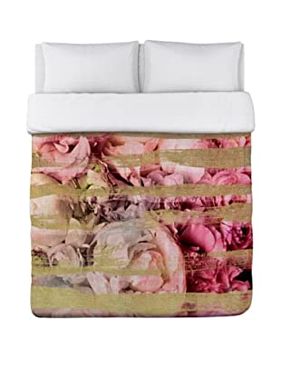 Oliver Gal by One Bella Casa Field of Roses Duvet Cover (Pink)