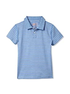 Soft Clothing for Children Boy's Marais Polo (Light Blue)