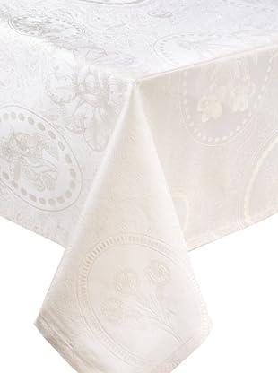 Garnier-Thiebaut Mille Eclats Tablecloth (Chocolat Blanc)