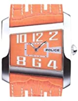 Police Analog Orange Dial Unisex Watch - 10372MS/17