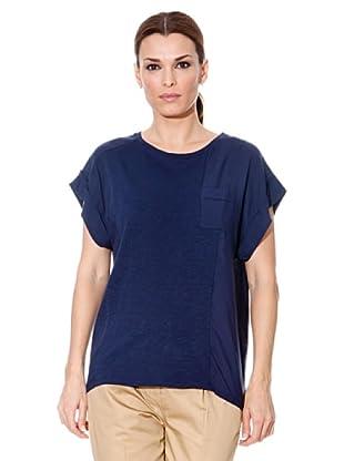 Cortefiel T-Shirt Tasche (Marine)