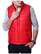 Yepme Men's Red Polyester Jacket-YPMJACKT0086_L