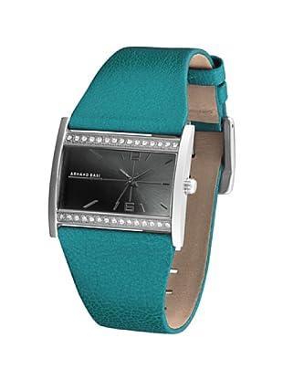 ARMAND BASI A0081L22 - Reloj de Señora movimiento de cuarzo con correa de piel Turquesa