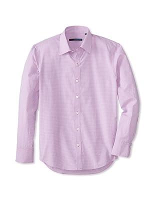 Zachary Prell Men's Villescaz Long Sleeve Shirt (Pink)