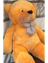 Golden Brown 5 Feet Bow Teddy Bear