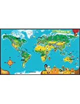 Leapfrog Tag World Map Pack, Multi Color