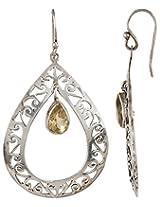 Haat4Art 925 Silver Dangle & Drop Earrings for Women (RJ-2620)