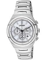 Citizen Eco-Drive Analog White Dial Men's Watch - CA4021-51A