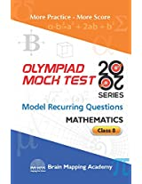 BMA's Olympiad Mock Test 20-20 Series - Mathematics for Class - 8