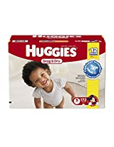 Huggies Snug & Dry Diapers, Size 5, 172 Count (One Month Supply)