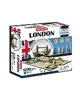 4D Cityscape London Time Puzzle