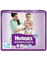 Huggies Wonder Pants Large Diapers (20 Count)