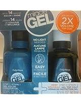 Sally Hansen Miracle Gel Polish 220 Teal Twin & Gel Top Coat